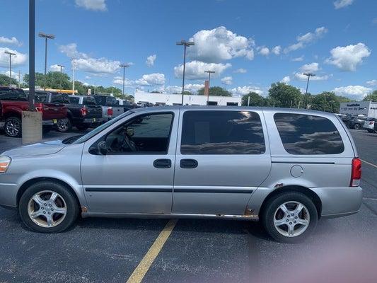 Used 2007 Chevrolet Uplander For Sale Princeton Il Kewanee
